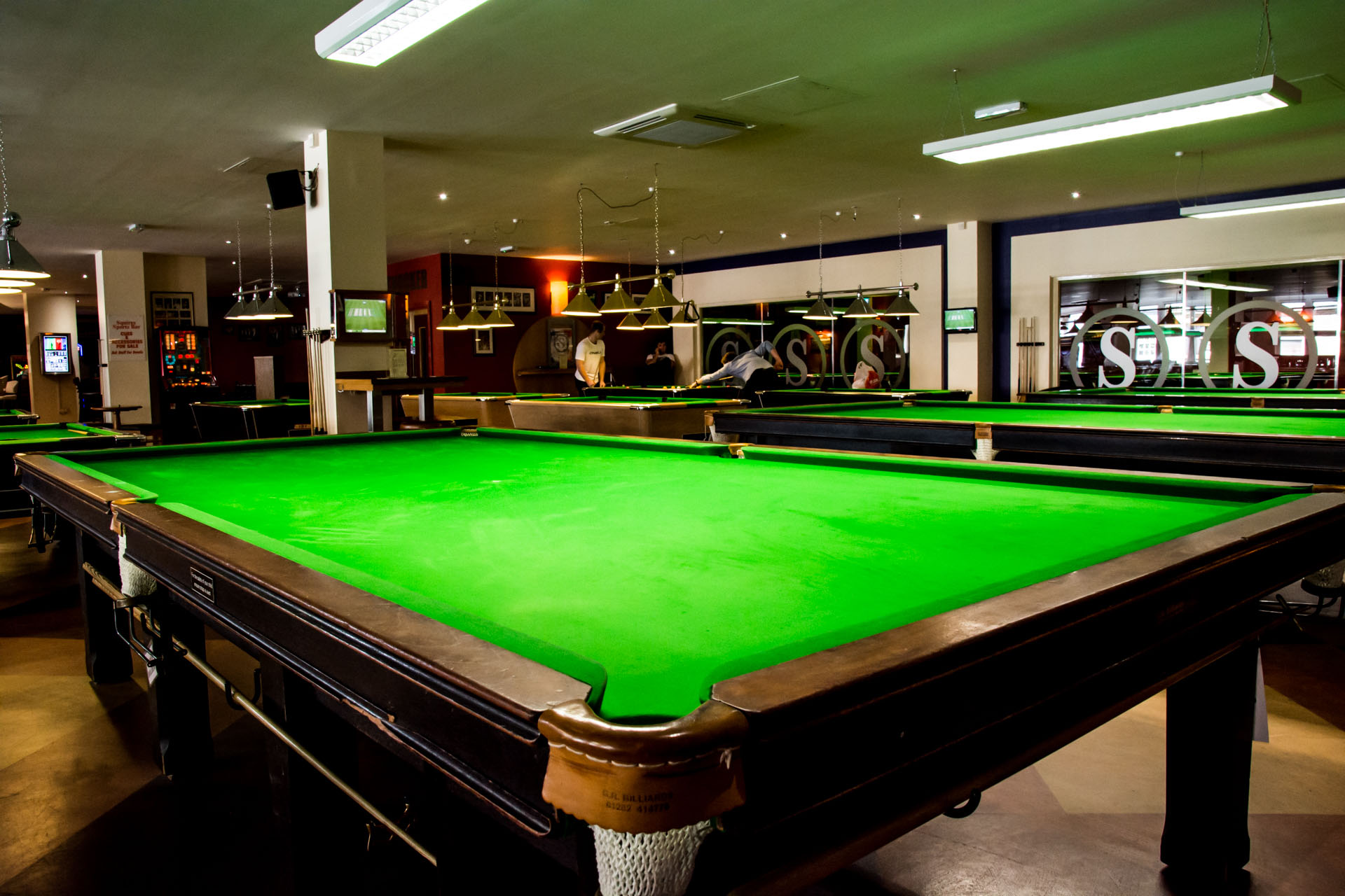 Squires Snooker Pool Sports Bar Function Room